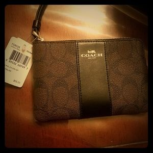 Brand new coach wristlet, price tag attached